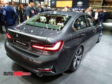 Bmw 3 Series 2019 Launch In India by 2019 Bmw 3 Series Luxury Sedan Debuts In Paris India