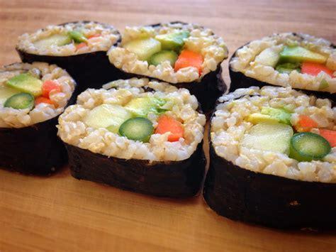 Veggie Sushi Rolls Recipe veggie sushi rolls recipe dishmaps