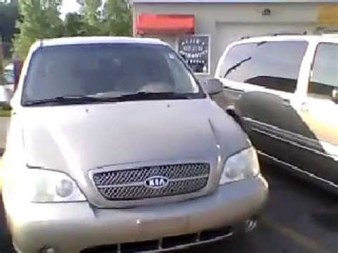 2004 Kia Sedona Review 2004 Kia Sedona Lx Walkaround Review Diy Reviews