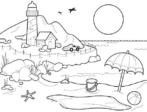 imagenes de invierno y verano para colorear fichas de verano para colorear