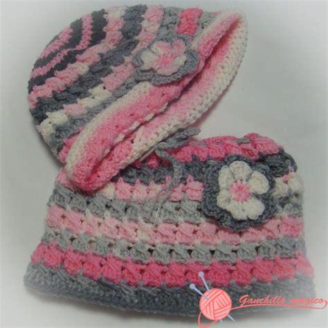 crochet gorros tejidos de gancho para nina sandalias tejidas a crochet gorro y cuello de lana realizado en ganchillo para ni 241 a
