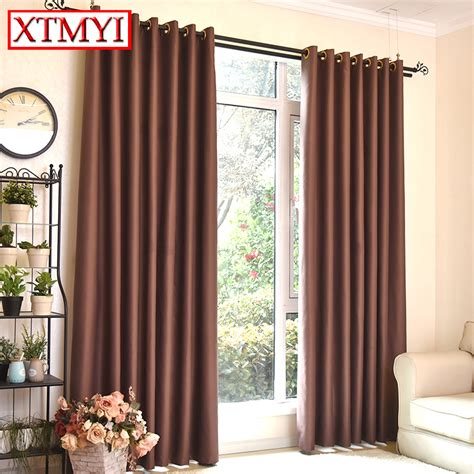 blackout kitchen curtains aliexpress com buy modern blackout window curtains