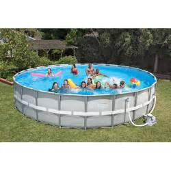 Backyard Pools Walmart Get The Intex Above Ground Swimming Pool 26 X 52 Quot At An Always Low Price From Walmart