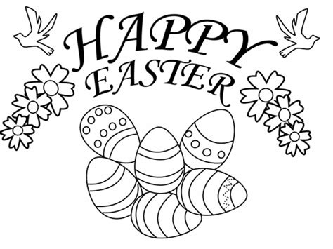 easter coloring pages for kids coloring town