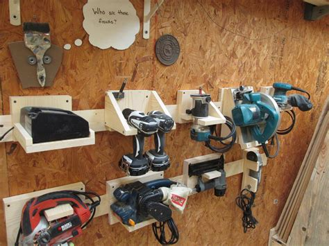 Garage Storage Ideas For Power Tools Diy Power Tool Storage System Wilker Do S
