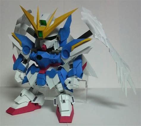 Gundam Wing Zero Papercraft - gundam zero papercraft by redshardcaster on deviantart