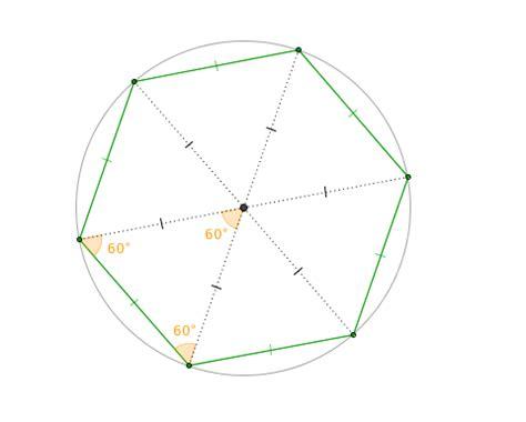 angoli interni esagono area dell esagono e pentagono perimetro e apotema