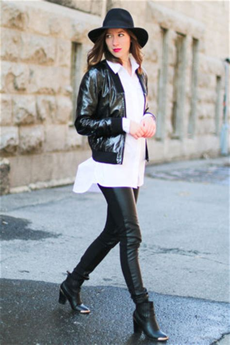 black h m leather how to wear and where to buy