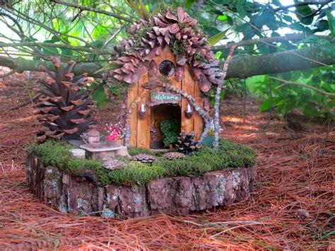 Handmade Fairies For Sale - pine hollow a ooak outdoor home
