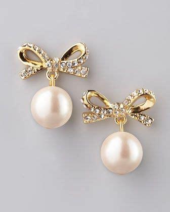 Kate Spade Pita kate spade bows and pearls on