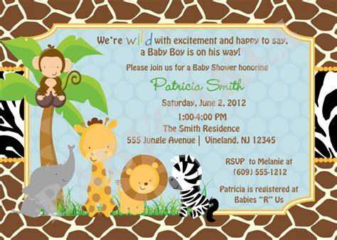 free printable birthday invitations with animals animal party invitations zoo jungle birthday invitation