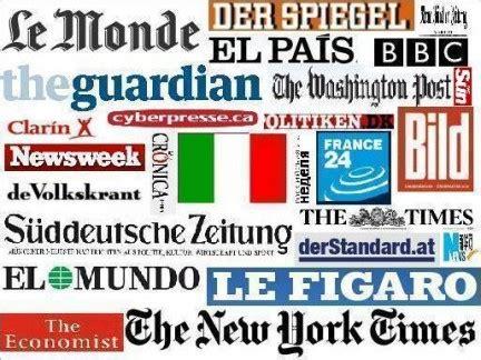 testate giornalistiche italiane sta estera e italia quando i quotidiani stranieri