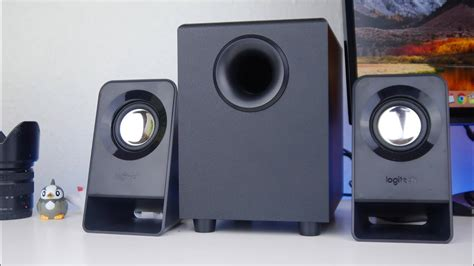 Logitech Speaker Z213 2 1 best budget speakers logitech z213 2 1 speakers review