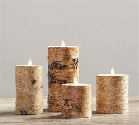 home design nice white flameless pillar candles for your premium flicker flameless birch wax pillar candle
