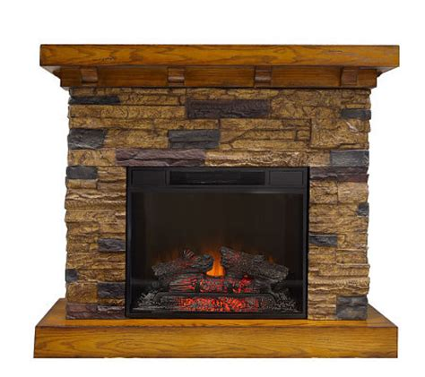 flagstone freestanding vent free electric fireplace page