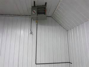 pole barn heater turning 40x56 pole barn shed into a shop the garage