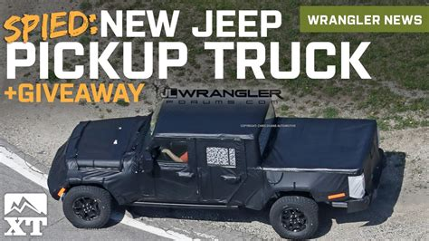 new jeep truck 2019 2019 jeep jt wrangler truck spied fender flare