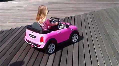 avigo mini cooper push car s pink mini cooper s