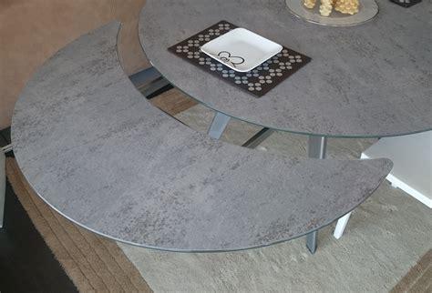 tavoli in vetro rotondi tavolo eurosedia argo rotondi rotondi allungabili vetro