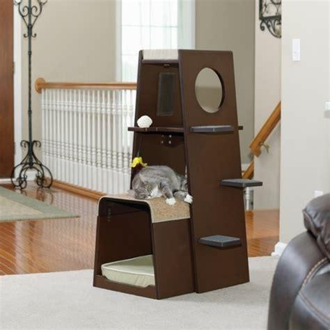 pet products modular modern cat tower 416819 sauder sauder 416819 modular modern cat tower