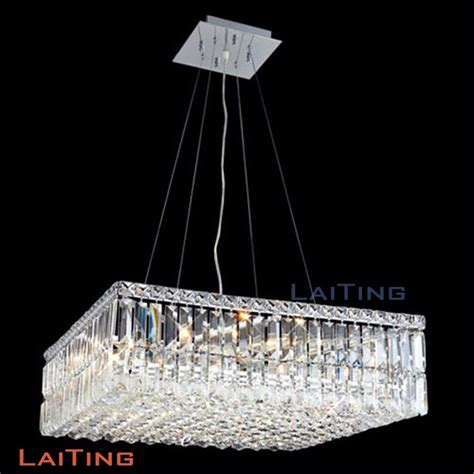 Rectangular Chandelier Canada Laiting Modern Design Rectangular Chandeliers Dining Room Iluminaria Lighting Square