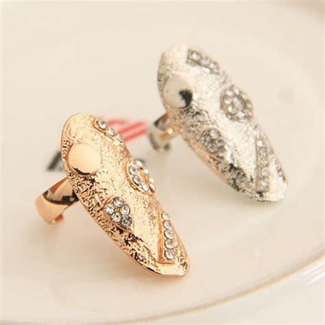 wholesale gold finger ring simple design finger