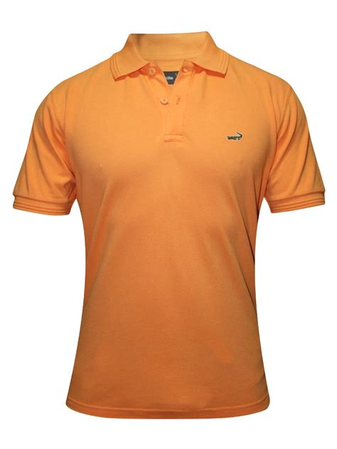 Polo Crocodile Polos buy t shirts crocodile orange polo t shirt aligator crw muskmelon cilory