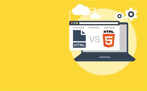 git tutorial html5 difference between html and html5