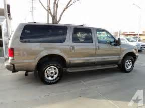 2003 Ford Excursion 2003 Ford Excursion Limited For Sale In Sioux Falls South