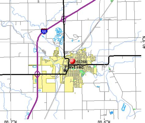 Pontiac Il Zip by 61764 Zip Code Pontiac Illinois Profile Homes