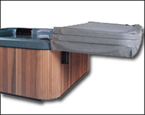Cover Shelf by Leisure Concepts Cover Shelf With Removable Arm Accessories Spa Cover Lifter
