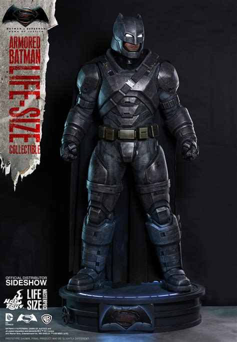 Toys Batman Vs Superman Armored Batman dc comics armored batman size figure by toys sideshow collectibles