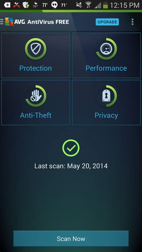 virus protection android avg antivirus security 4 for android