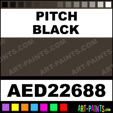 pitch black color pitch black adirondack acrylic paints aed22688 pitch