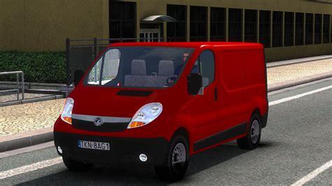 mod for ets2 game modding vaxhuall vivaro v0 1 mod euro truck simulator 2 mods