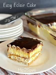 easy graham cracker eclair cake recipe hip2save
