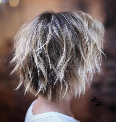 shagy short with silver highlights haistyles 50 trendiest short blonde hairstyles and haircuts