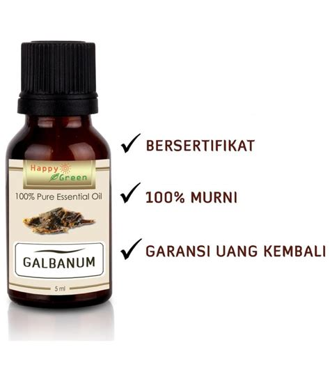 100 Ml Minyak Atsiri Jahe Essential happy green galbanum essential 5 ml minyak atsiri galbanum