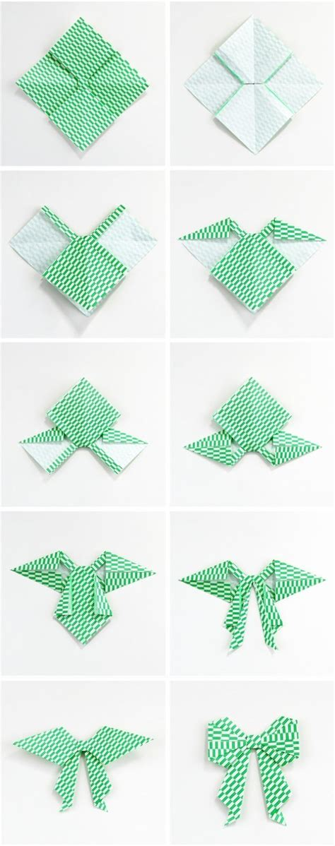How To Make A Origami Bow And Arrow - 25 unique origami bow ideas on origami paper
