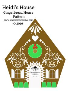 pattern for small gingerbread house the gingerbread journal building a sweet life