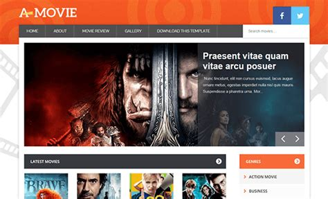 theme blog movie movie blogger template 171 amazing blogger templates
