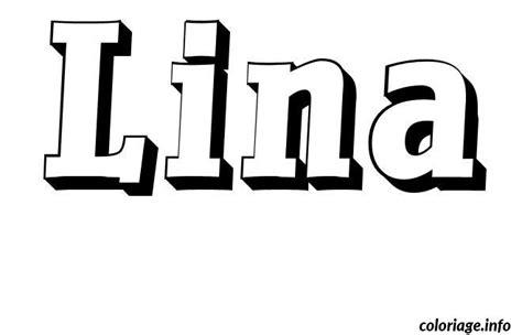 Coloriage Lina Jecolorie Com