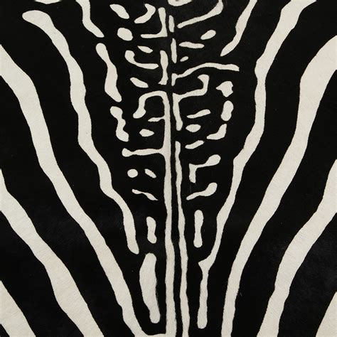 Black And White Zebra Cowhide Rug Buy A By Amara Zebra Printed Cowhide Rug Black White