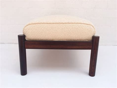 Beautiful Rosewood Lounge Chair With Ottoman At 1stdibs Beautiful Ottomans