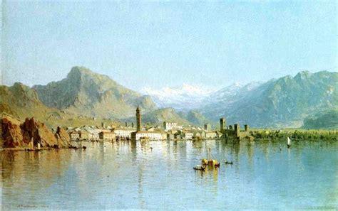 festival painting lago di garda sanford robinson gifford lago di garda italy painting 50