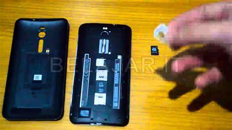 Simcard Dan Mmc Asus Zenfone 2 5 5 Ze551ml cara mudah memasang sim card micro sd card asus zenfone