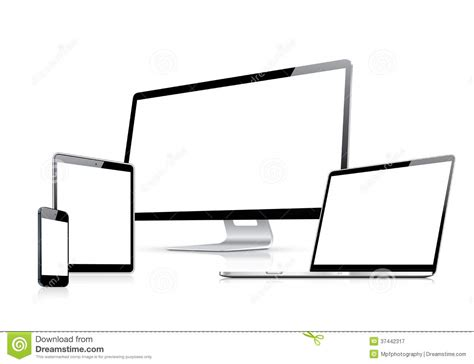 what is a template on a computer modern web design vector template with laptop tab royalty