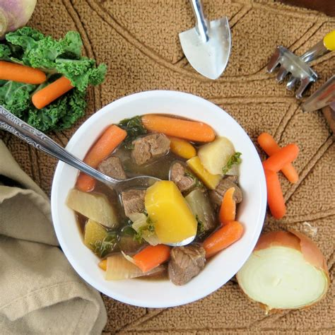 root vegetable beef stew turnip rutabaga and root veggie beef stew sundaysupper