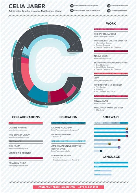 resume infographic infographic r 233 sum 233 visual ly
