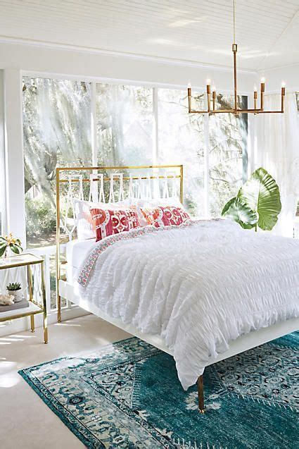 anthropologie bedroom home pinterest south shore decorating blog the modern bohemian home from